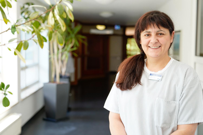 Praxisleiterin Ulrike Herzog im Portrait