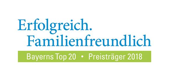 """Logo von """"Familienfreundlich Bayerns Top 20"""""""