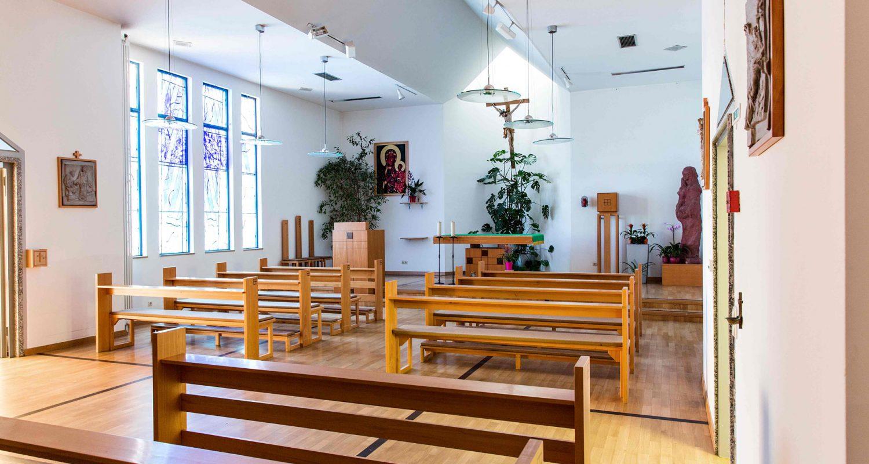 Die eigene Kirche in St. Elisabeth